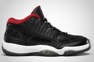 Release Date 07 16 2011Name  Air Jordan XI IE LowColor  Black Varsity Red-WhiteStyle 306008-001Retail  Price  135.00 d1fb00ee7