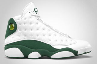a161daddef9234 Release Date 07 26 2011Name  Air Jordan XIII Ray Allen PEColor   White CloverStyle 414571-125Retail Price   160.00