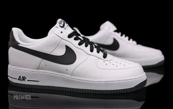Nike Air Force 1 Nike Lacets Blanc Moucheté
