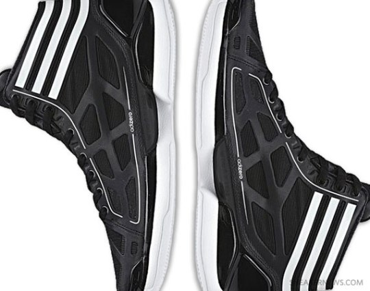 adidas AdiZero Crazy Light – Black – White