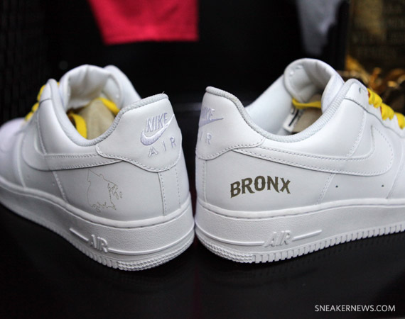 newest bab57 cc7f3 Nike Air Force 1 Low -  White on White  NYC Boroughs Pack ...