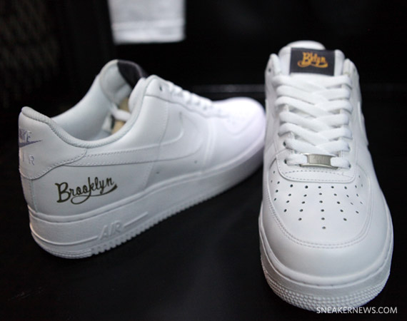 Nike Air Force 1 Low White On White Nyc Boroughs Pack