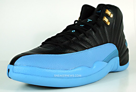 Air Jordan XII - Carmelo Anthony Nuggets Away PE - SneakerNews.com b3e8c1184