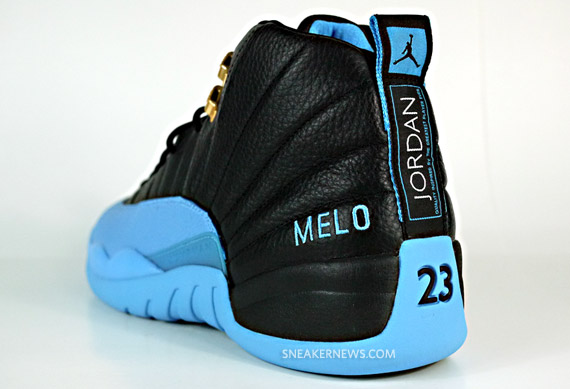 f804eca13f4b Air Jordan XII - Carmelo Anthony Nuggets Away PE - SneakerNews.com