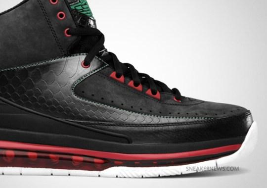 Air Jordan 2.0 – Black – Classic Green – Varsity Red | Release Date