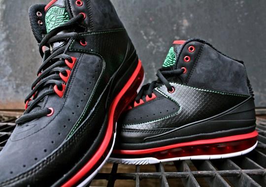 Air Jordan 2.0 – Black – Varsity Red – Classic Green – New Photos