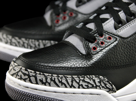 air jordan 3 retro (gs) stealth arms