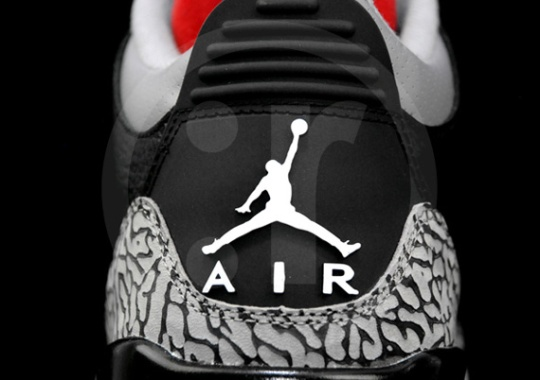 Air Jordan III Retro – Black – Varsity Red – Cement – White – New Images