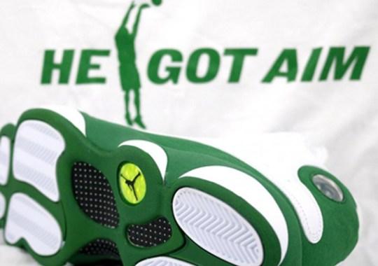 Air Jordan XIII Ray Allen PE 'He Got Aim' T-Shirt