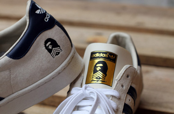 A Bathing Ape x adidas Originals Superstar 80s ??B Sides?? New Images