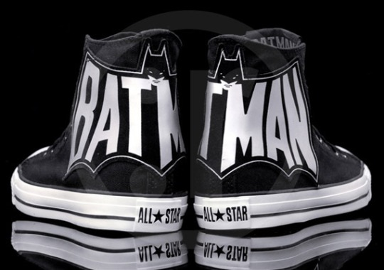 Batman x Converse Chuck Taylor All Star – Black – White