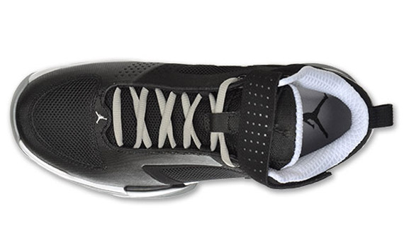 2132bc41254918 Jordan BCT Mid Black Metallic Silver White 454043-001. Advertisement. show  comments