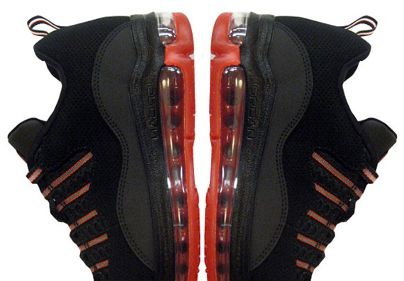 Jordan CMFT Max Air 10 Black Orange