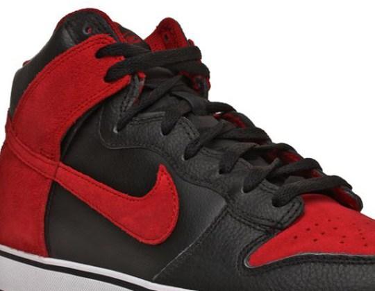 Nike 6.0 Dunk SE – Black – Red