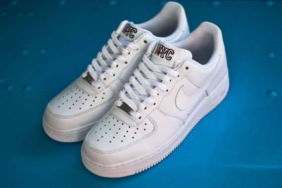 Nike Air Force 1 Low 'White on White' NYC