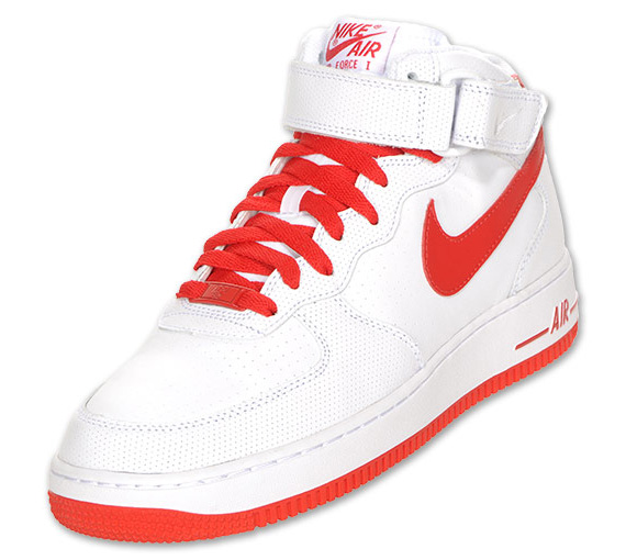 nike air force 1 mid 07 white varsity red cement