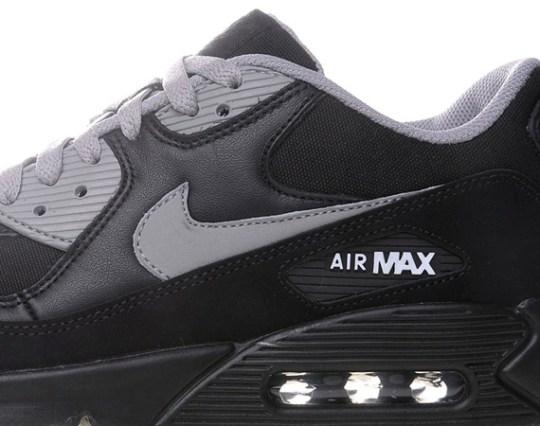 Nike Air Max 90 – Black – Medium Grey