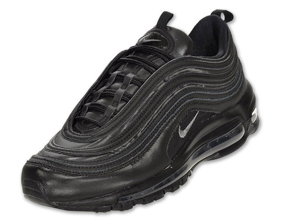 Nike Air Max 97 Black Metallic Hematite Sneakernews Com