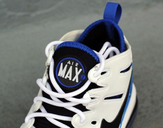 air trainer max 91 on feet