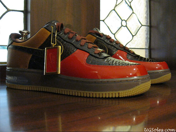 cheap for discount 4a5db 3c7e3 ... Nike Air Force 1 Bespoke Lux Bison By Steve Pinkerton .