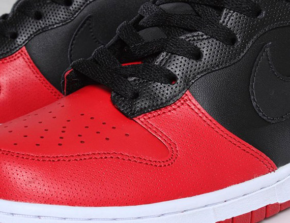 new concept 6626c a349c Nike Dunk High - Black - Sport Red - White - Available - SneakerNews.com
