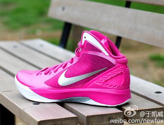 watch 682e0 ee9f7 Nike Zoom Hyperdunk 2011 - Pink - White - SneakerNews.com