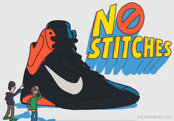 Húmedo subtítulo corriente  Nike Hyperfuse 'Tales From The Kitchen' - Animated Video - Pochta