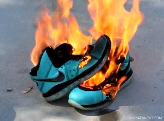 29989ec621e5 Nike LeBron 8  South Beach  - Burned! - SneakerNews.com
