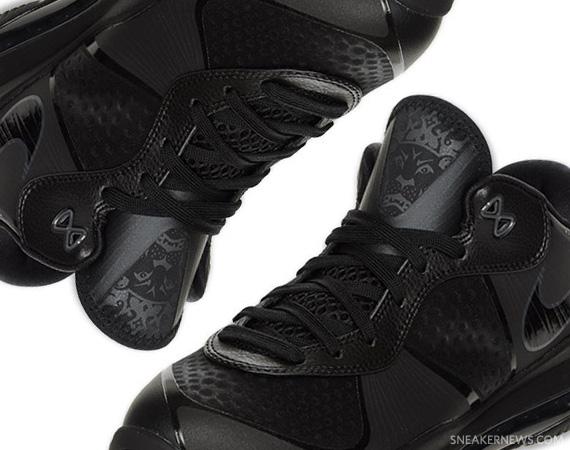 Nike LeBron 8 V/2 Low Blackout Available