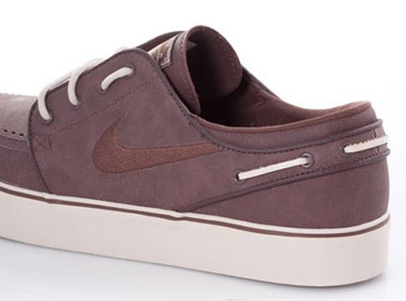 d227bbe06ef3c0 Nike SB Zoom Stefan Janoski  Boat Shoe  - Dark Oak - SneakerNews.com