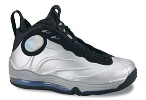 nike air total foamposite max metallic silver for sale