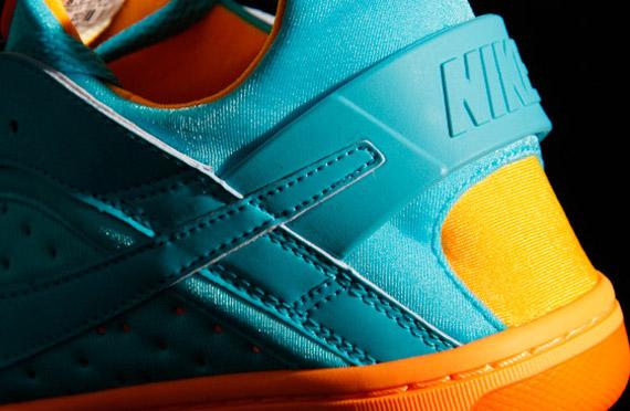 best value 85425 4a417 Nike WMNS Huarache Dance Low - Chlorine Blue - Peach Cream - Total Orange -  SneakerNews.com