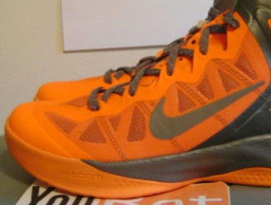 Nike Zoom Hyperforce – Orange – Grey | Sample on eBay