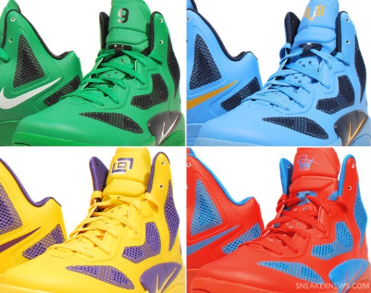 Nike Zoom Hyperfuse 2011 NBA PEs – New Images