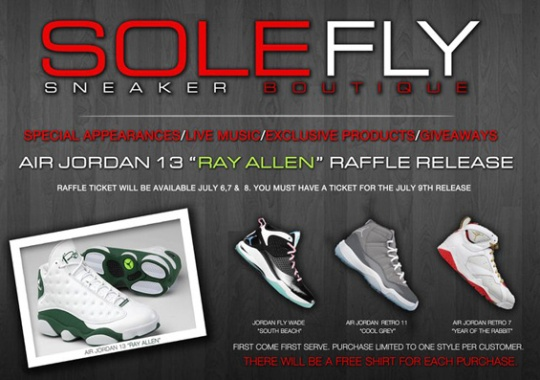 SoleFly One-Year Anniversary Release Event