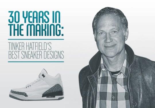 Tinker Hatfield's Greatest Sneaker Designs