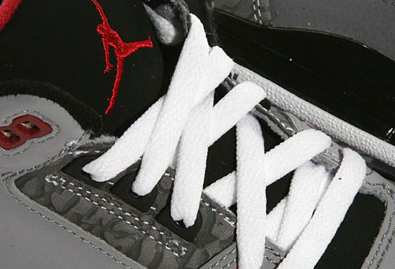 timeless design 4487d bc256 50%OFF Air Jordan III Retro GS Stealth Varsity Red Black White New Images