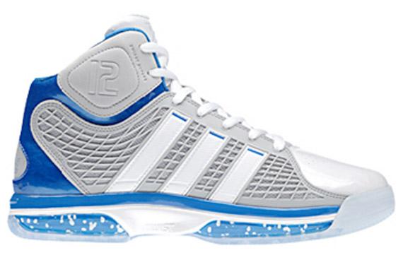 brand new b1f18 ff593 ... adidas adiPower Howard - SneakerNews.com adidas adiPower Howard 2 White  Royal Blue ...