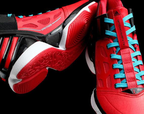 adidas adiZero Rose 2.0 -  Windy City Rose  - SneakerNews.com dfa8e3132