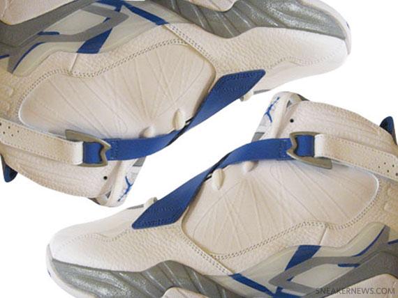 Air Jordan 8.0 - White - Grey - Blue
