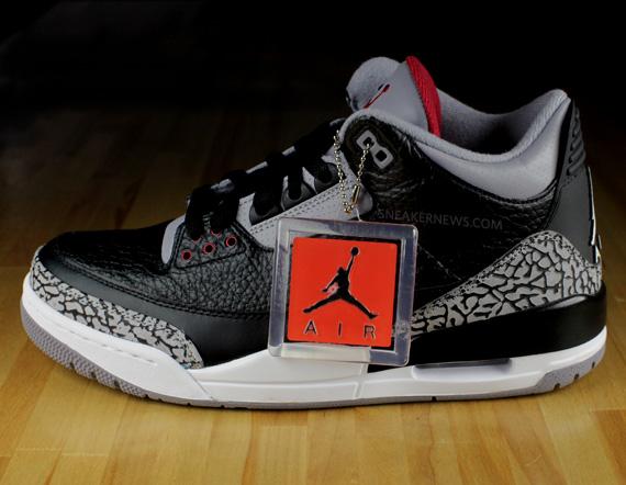 1f1b9d5bed8c97 Air Jordan III - Black - Cement - 2011 Retro