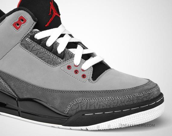 Nike Air Retro Jordan 3 Stealth