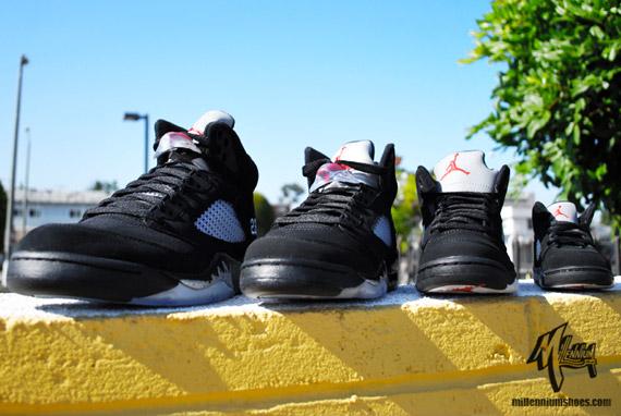 d863a284a65 Air Jordan V Retro – Black – Metallic Silver | Full Family Sizes. August 9,  2011 ...