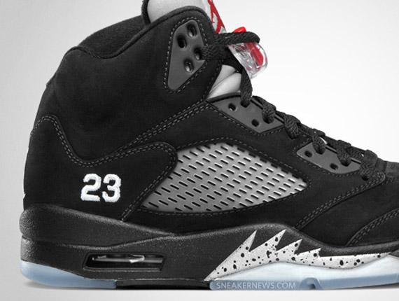 all black jordan 5s