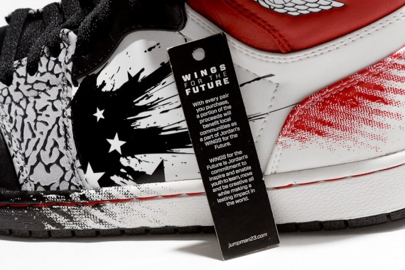 Dave White x Air Jordan 1 'Wings for the Future' – Detailed Images