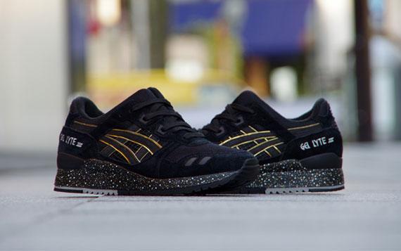 finest selection 90f3e c2c79 atmos x Asics Gel Lyte III - Black - Gold - SneakerNews.com