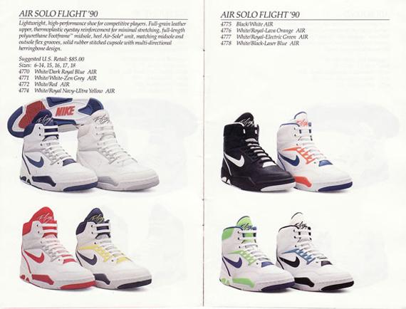 Escrutinio Saqueo Intermedio  Nike Basketball Catalog From 1990 - SneakerNews.com