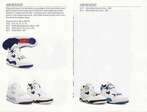 Nike Basketball Catalog From 1990