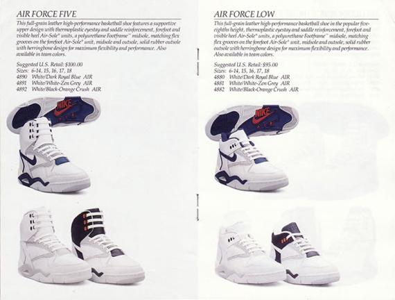 nike air force 5 1990