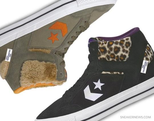 Converse Weapon Street FSR Hi – Leopard + Fur
